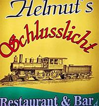 Schlusslicht Helmut Bar Restaurant